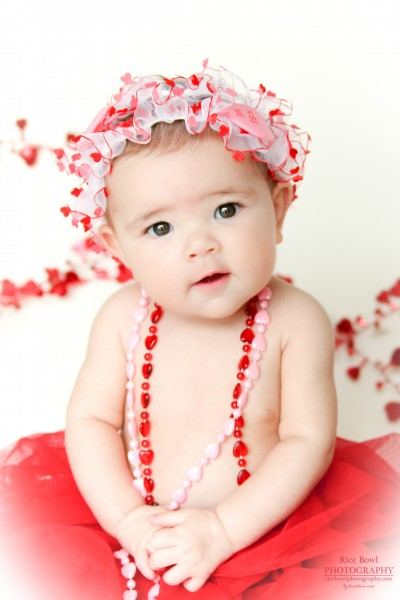 Clear Lake Valentine Baby Photographer
