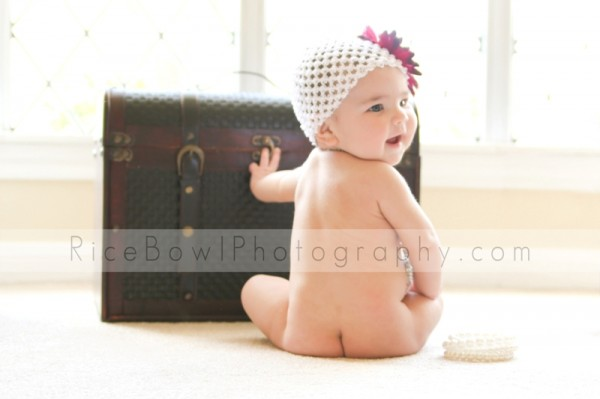 Baby Photographer - 6 month portraits