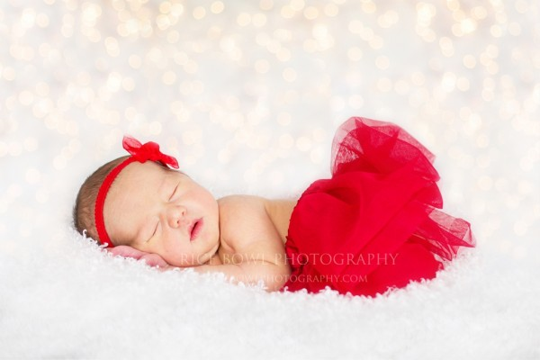 Colorado Christmas Newborn Portrait Photographer