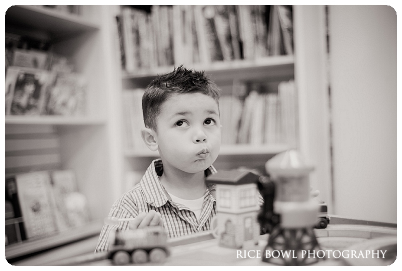 Thomas the Train, Lifestyle, Denver Child Portrait Photgrapher